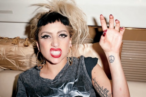 Lady Gaga - Photoshoot for Terry Richardson Book 2011 (140 фото)