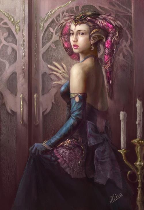 Иллюстратор Yuxuan Li (17 работ)