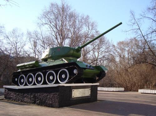 Танк Т-34 (75 фото)