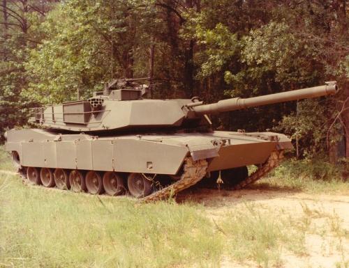 Основной боевой танк США - Abrams (44 фото)