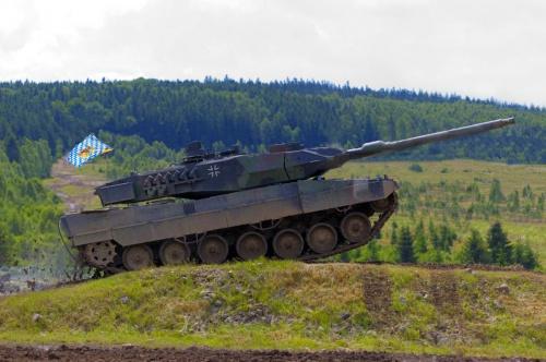 Основной боевой танк Германии - Leopard 2 (74 фото)