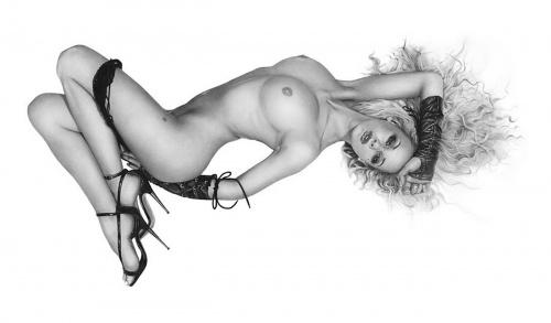 Работы чешского пин - ап художника Виктора Янга (Viktor Jung) (34 работ)
