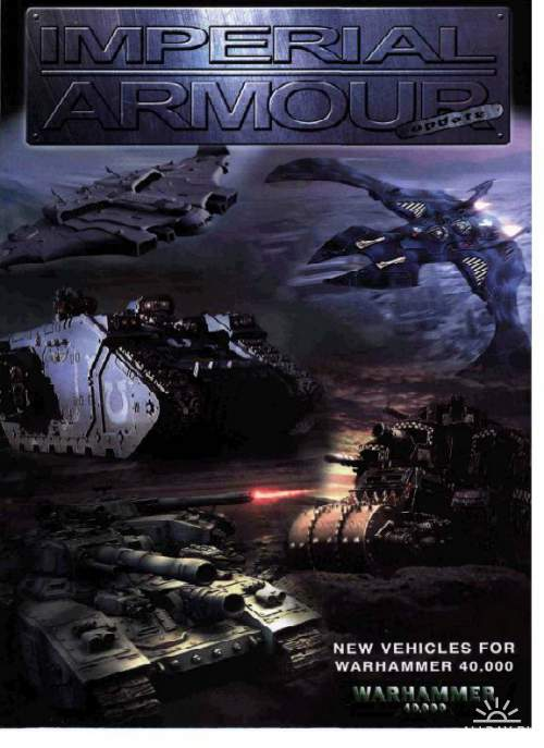 Imperial Armour: New Vehicles for Warhammer 40,000 (1 фото)